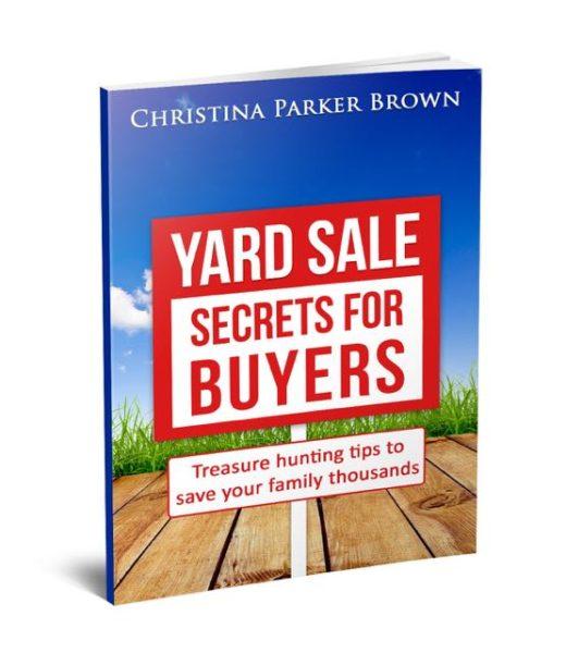 Yard Sale Secrets For Buyers And Sellers - AKA Homeschool Mom